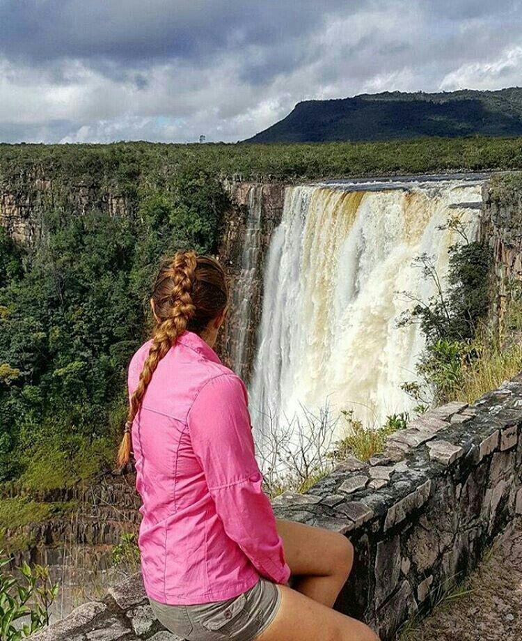 Salto Aponwao, La Gran Sabana, Venezuela