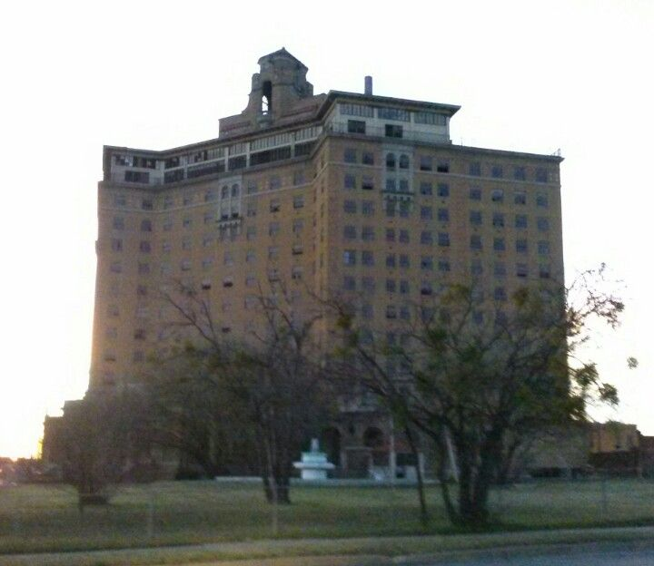 Abandoned Places Of Texas: Baker Hotel, Mineral Wells, Texas