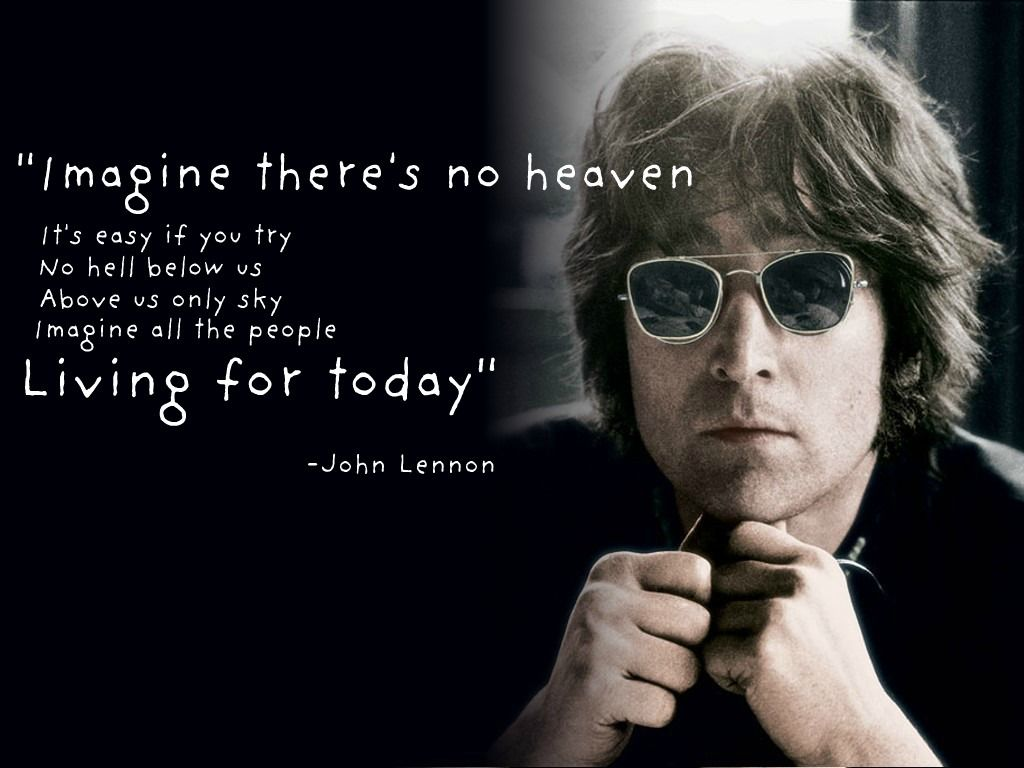 Its Easy If You Try Agnostic Pinterest John Lennon Imagine