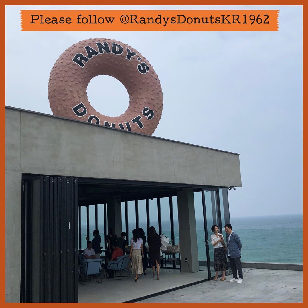 Please follow our new store on Jeju Island S. Korea @randysdonutskr1962