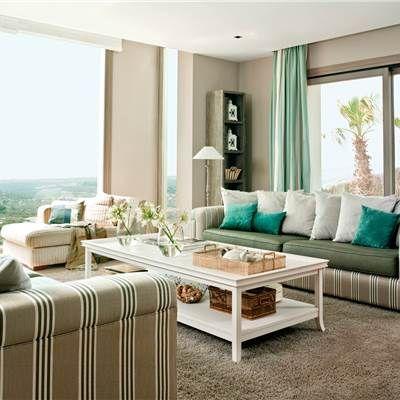 Artículos y fotografías con las mejores mesas de centro de El Mueble - cortinas azules