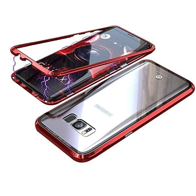 size 40 3b3b1 eed50 Amazon.com: Magnetic Adsorption Samsung Galaxy Note 8 Case Luxury ...