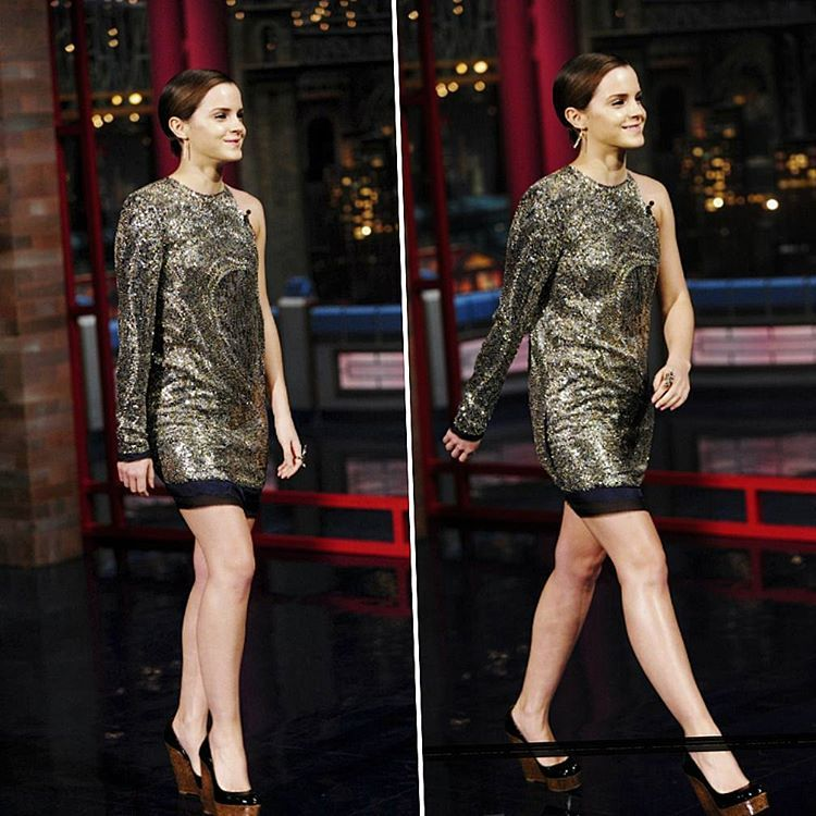"""«Miss Watson...The Most Beautiful Woman Of The World ❤❤ """"Late Show with David Letterman"""" New York11/07/11.»"""