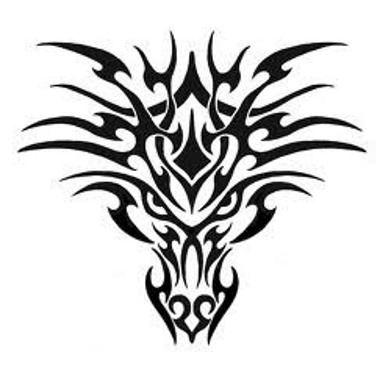 Dragon Tribal Tatouage tatouage tête de dragon | mensstuff | pinterest | tattoos, tribal