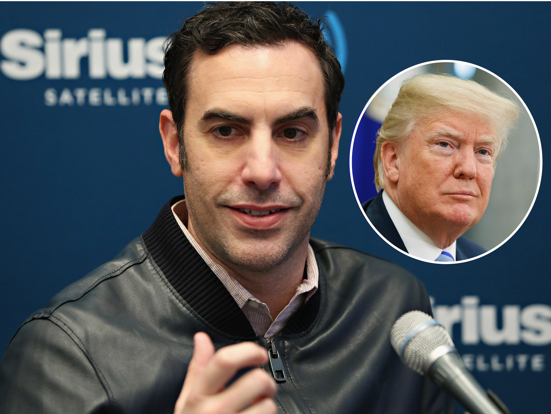 Comedian Sacha Baron Cohen Teased A Trump Themed Project On Twitter Comedians Sacha Baron Cohen Trump University