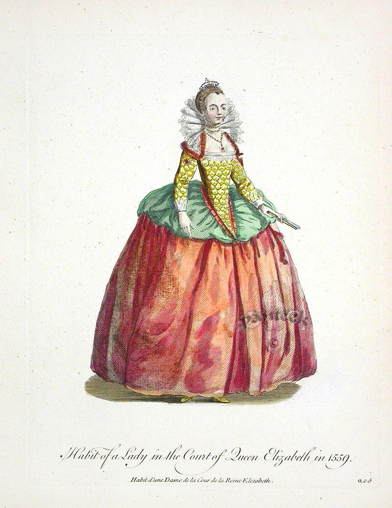 English Dress
