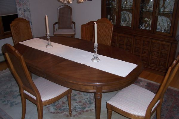 Dining Room Pads For Table Eight 8 Piece Solid Wood Dining Room Setdrexel Includes