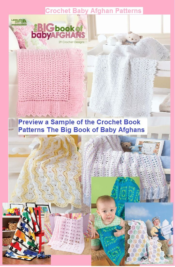 Preview a Sample of the Crochet Book Patterns The Big Book of Baby ...