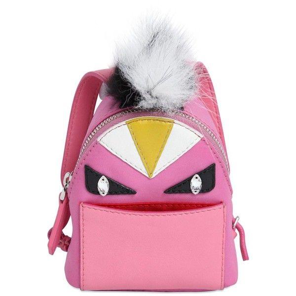 1b47f2f9c6de FENDI Monster Animation Bag Charm With Fur ( 1