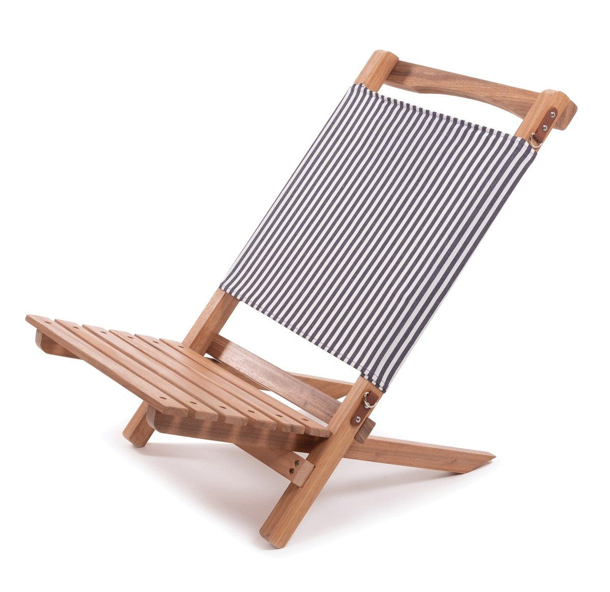 The 2 Piece Chair Lauren S Navy Stripe In 2021 Beach Chairs Navy Stripes Outdoor Chairs