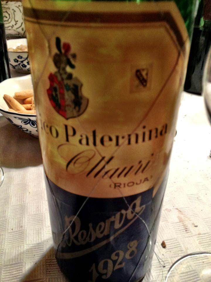 El Alma Del Vino Bodegas Federico Paternina Gran Reserva 1928 Bodegas Vino Vinos