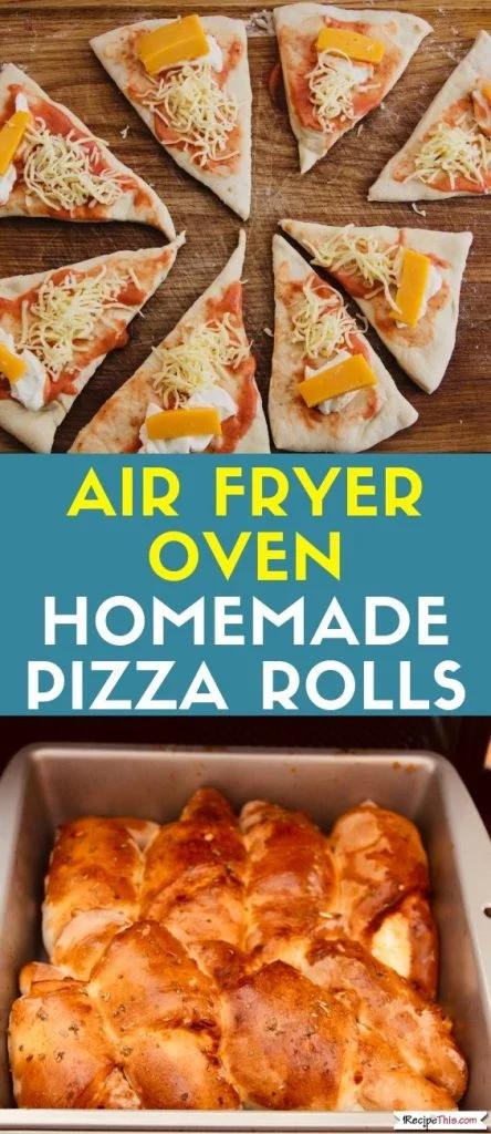 Air Fryer oven pizza Rolls Air Fryer Oven Pizza Rolls