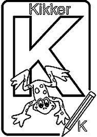"""de """"K"""" van kikker"""