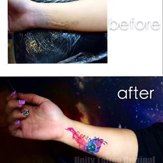 bc4cb9bd75349 21 Amazing Tattoos That Have Done An Incredible Job Covering Up Scars