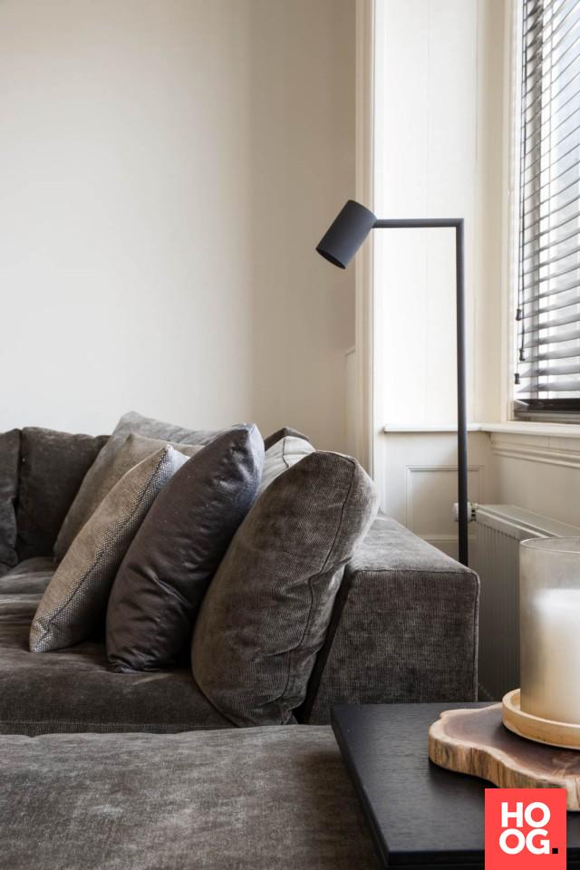 Moderne woonkamer met luxe meubels  Inrichting in 2019