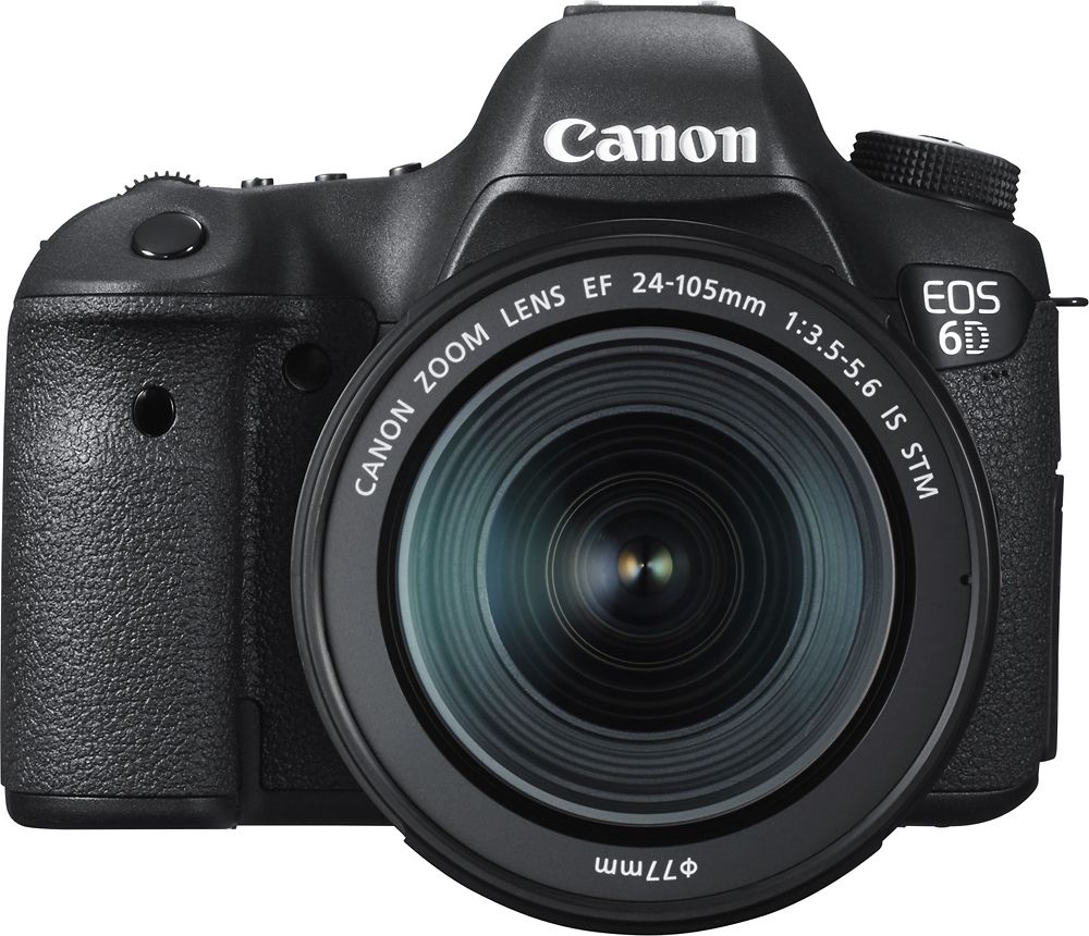 Best Buy Canon Eos 6d Dslr Camera With Ef 24 105mm Is Stm Lens Black 8035b106 In 2020 Canon Eos Eos Digital Slr Camera