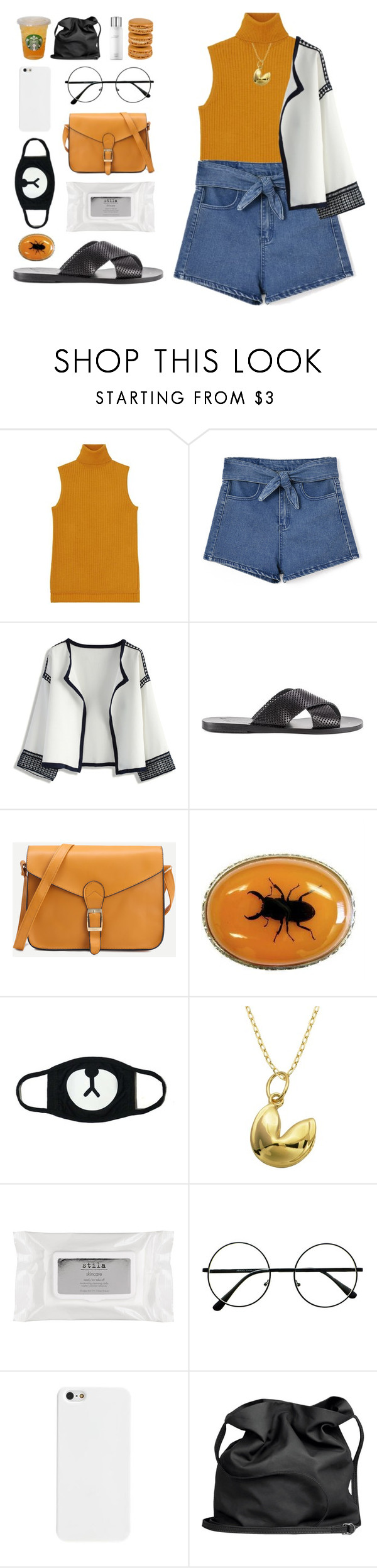 """✵ should've been the perfect storm"" by december-berry ❤ liked on Polyvore featuring Uniqlo, Chicnova Fashion, Chicwish, Ancient Greek Sandals, Lord & Taylor, Stila, Ann Demeulemeester, Hermès, bedroom and black"