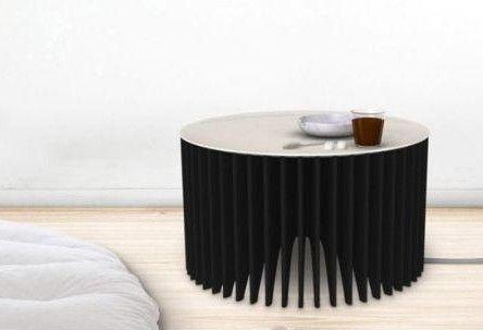 Heater Coffee Table