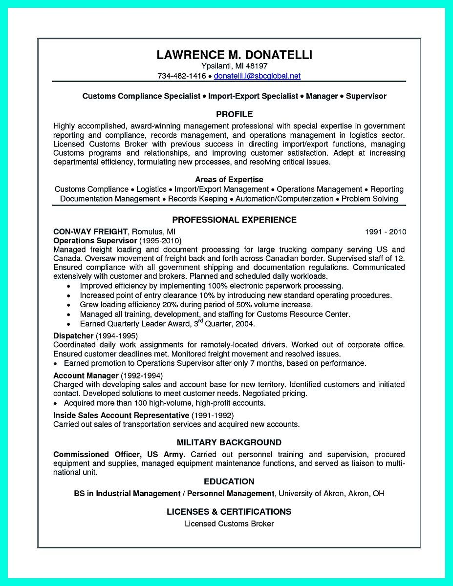 Awesome Best Compliance Officer Resume To Get ManagerS Attention