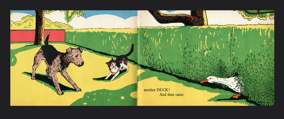 ANGUS AND WAG-TAIL-BESS / Marjorie Flack /1973