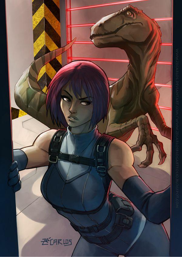 Regina Dino Crisis Dino Crisis Game Art Survival Horror Game