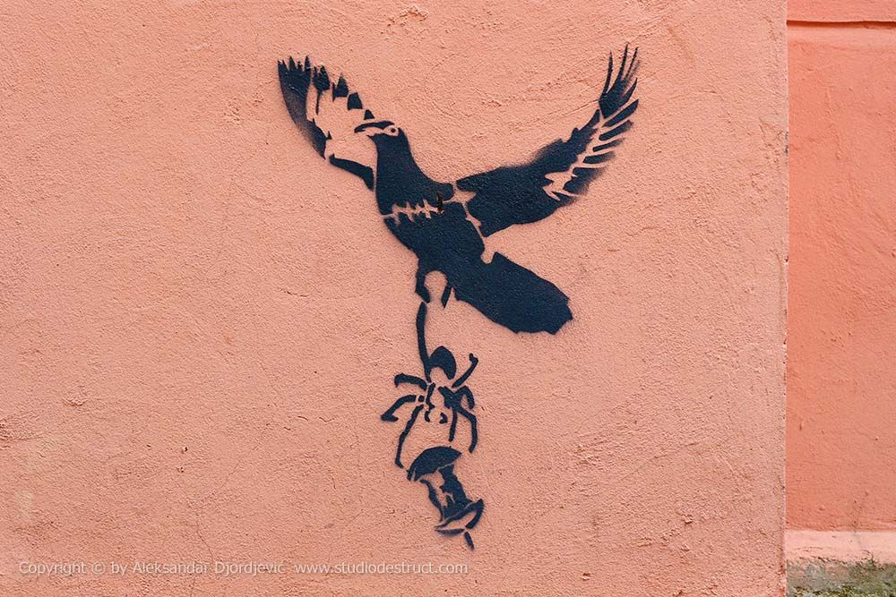 Hrana #BeogradskiGrafiti #BeogradskiGrafiti #StreetArt #Graffiti #Beograd #Belgrade #Grafiti