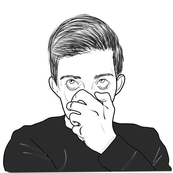 Grunge Boy Tumblr Art Drawing Ideas Hippie Music Hipster Goth White Eyeliner Emo Scene Sketchbooks