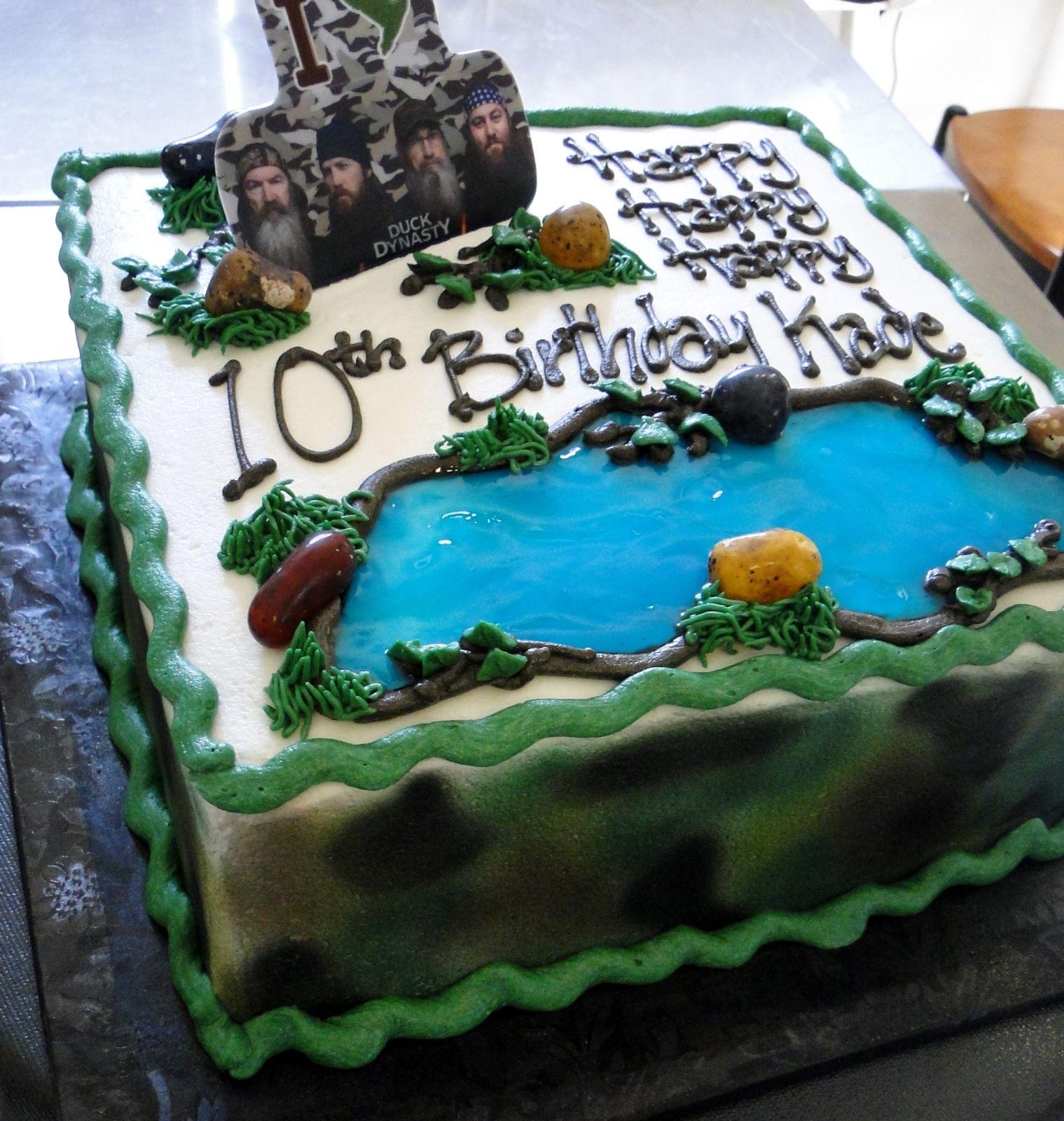 Duck Dynasty Cake The Swirl Cakes Creations Winston Salem NC