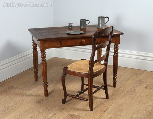 French Chestnut Provincial Small Refectory Table   Antiques Atlas
