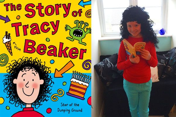 A really easy to make Tracy Beaker costume for World Book Day. Watch the video to find out more.