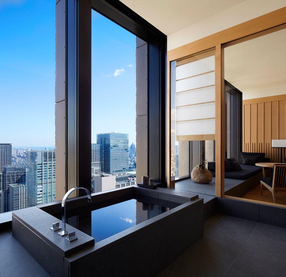 Aman Tokyo Luxury Hotel In Tokyo Japan Hotel Suite Luxury Luxury Homes Hotel Architecture
