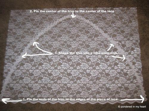 Sewing Tutorial How To Make A Lace Chapel Veil Diy Lace Veil Catholic Veil Veil Diy
