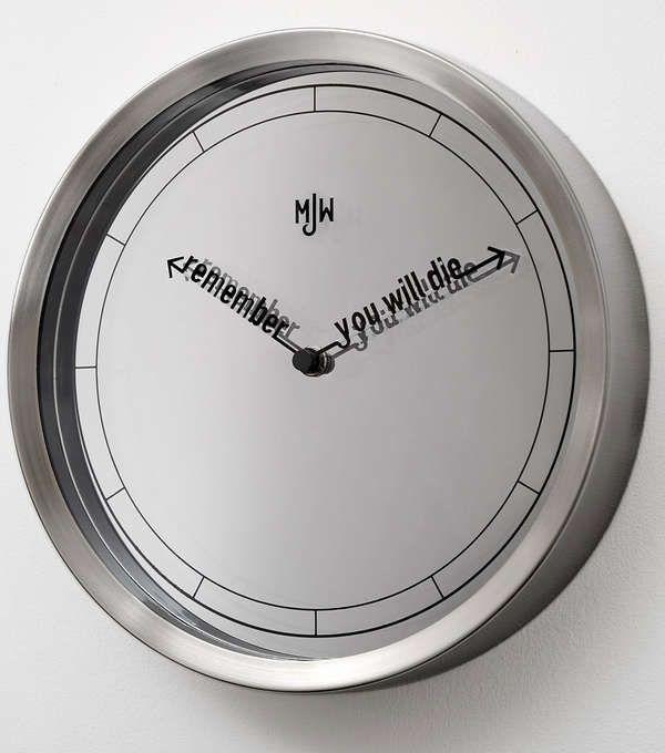 Truthful Time Tellers Beautiful Design Trends Clock Countdown Clock Wood Clocks