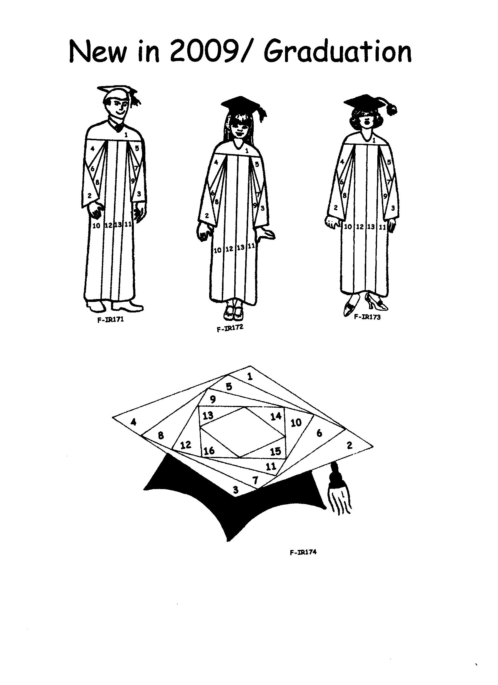 NEW Graduation Iris Folding Rubber Stamps Pg 23 Discount