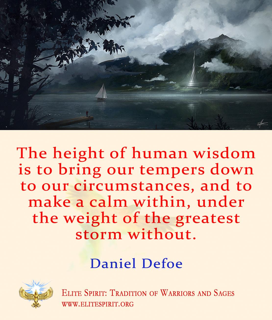Daniel Defoe Daniel Defoe Warrior Quotes Storm Ship
