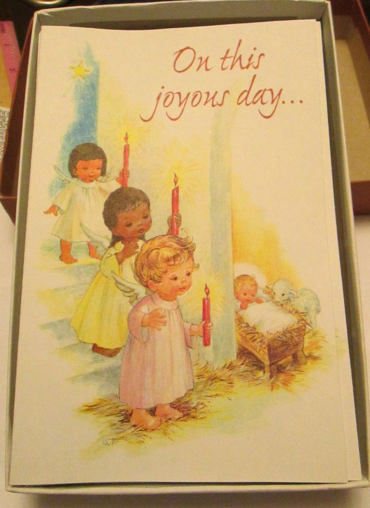 Vtg guideposts christmas cards story booklets angel children baby vtg guideposts christmas cards story booklets angel children baby jesus 25 boxed m4hsunfo
