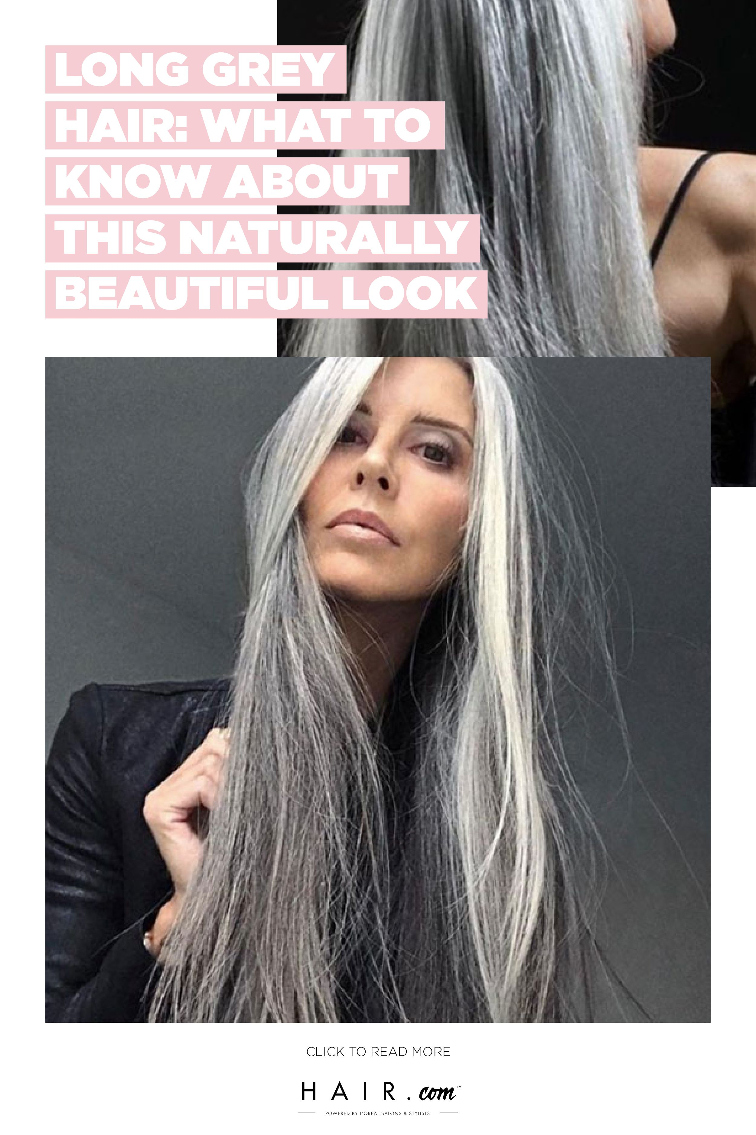 Long Grey Hair What To Know About This Naturally Beautiful Look