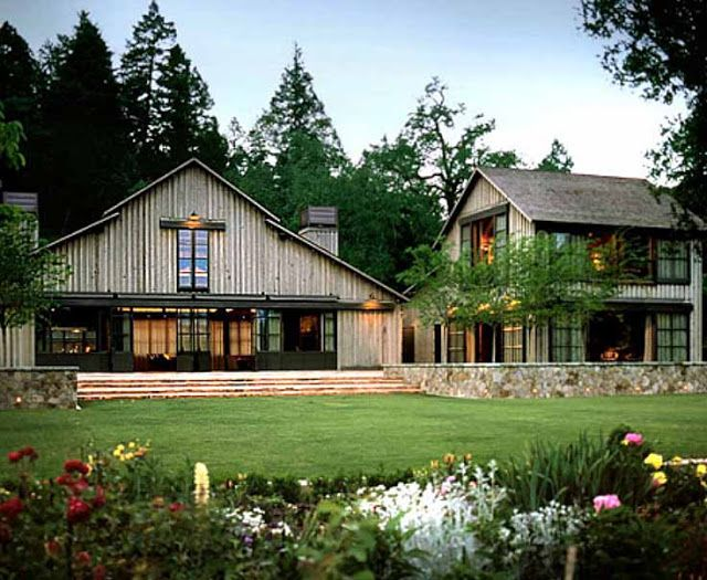Architectural wisdom from the great howard backen house - Rustic modern farmhouse exterior ...