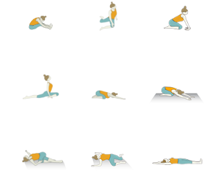 yin yoga sequence for awakening energy points the general