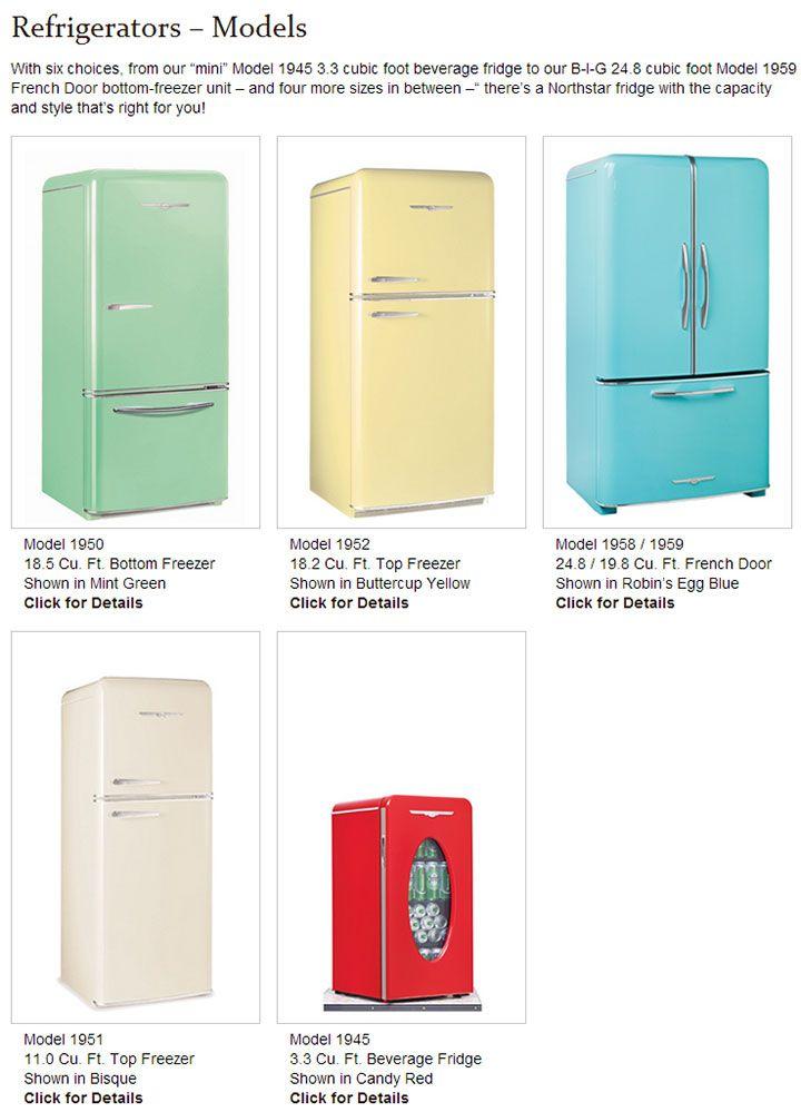 New Retro Fridge Retro Appliances Kitchen Styling Vintage Stoves