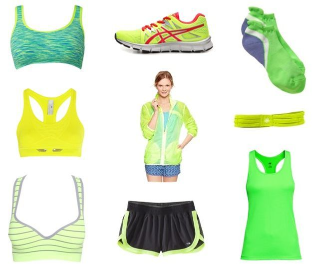 #chartreuse #prettiest #shocking #workout #clothes #fitness #needs #your #the #for #allShocking Char...
