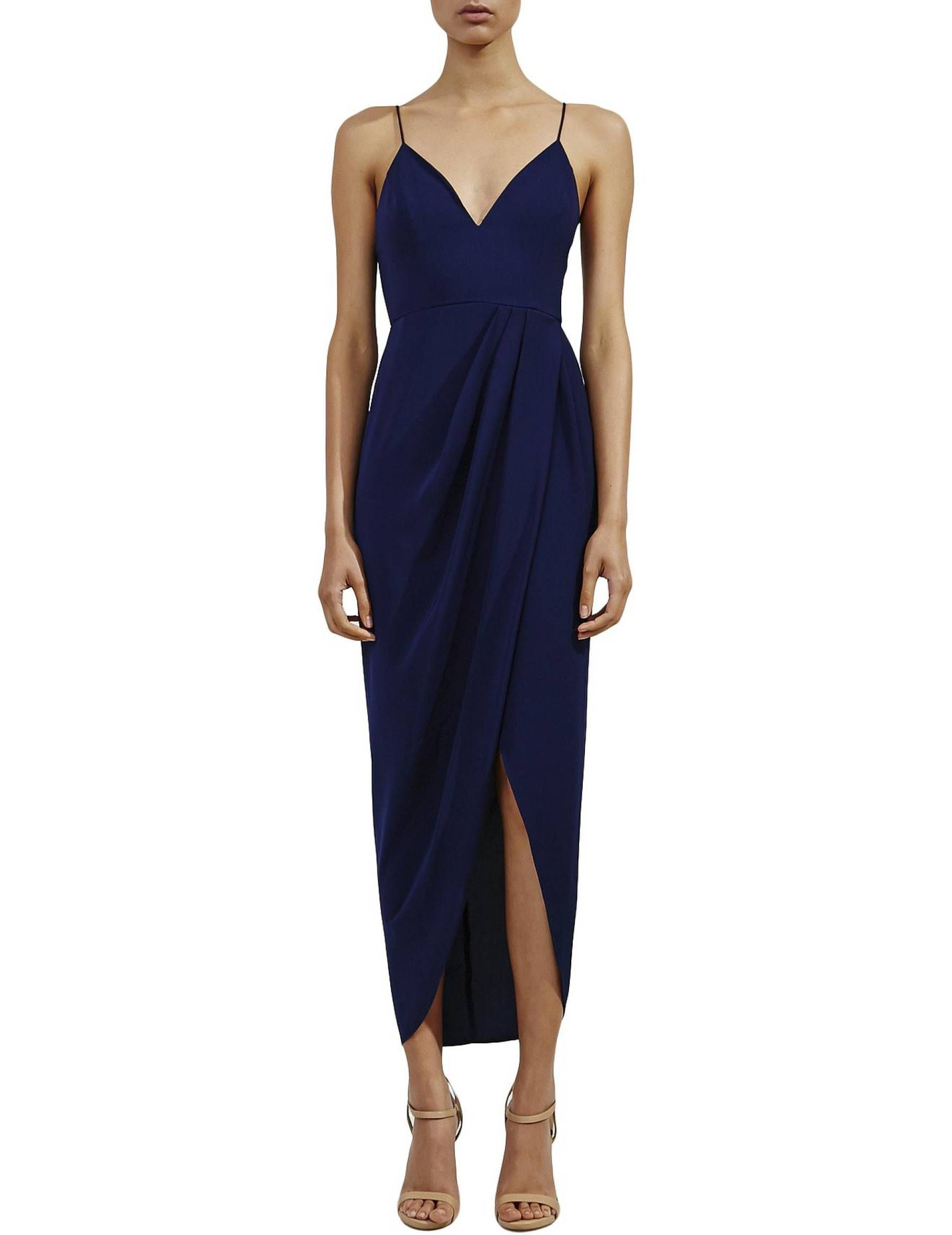 17f8aa5b1dea1 David Jones - Shona Joy Core Cocktail Midi Dress | Maxi Love | Midi ...