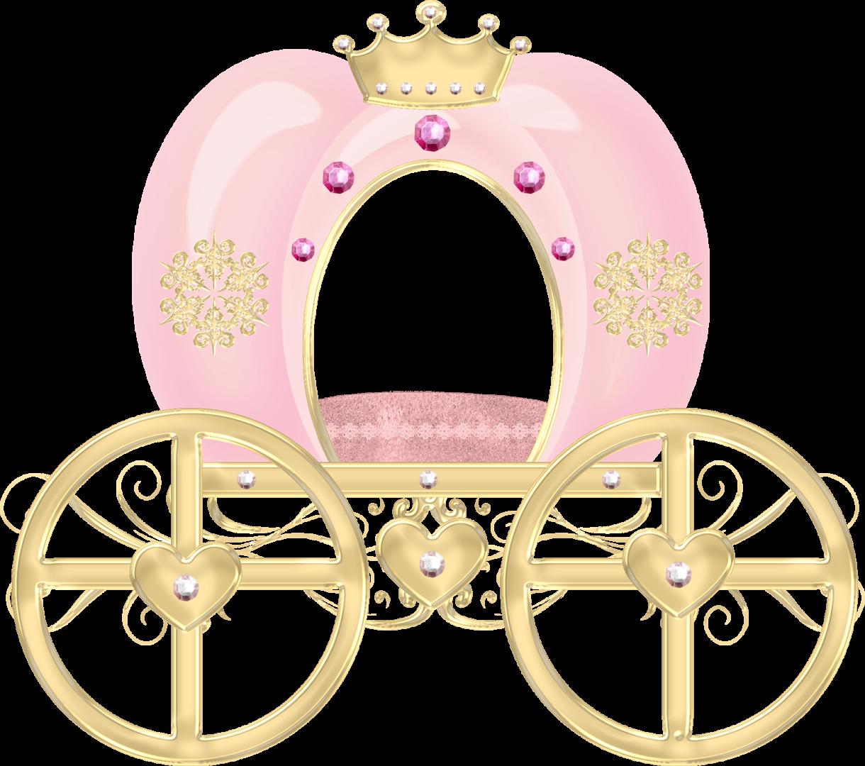 Carroza Carruajes De Princesas Fiesta De