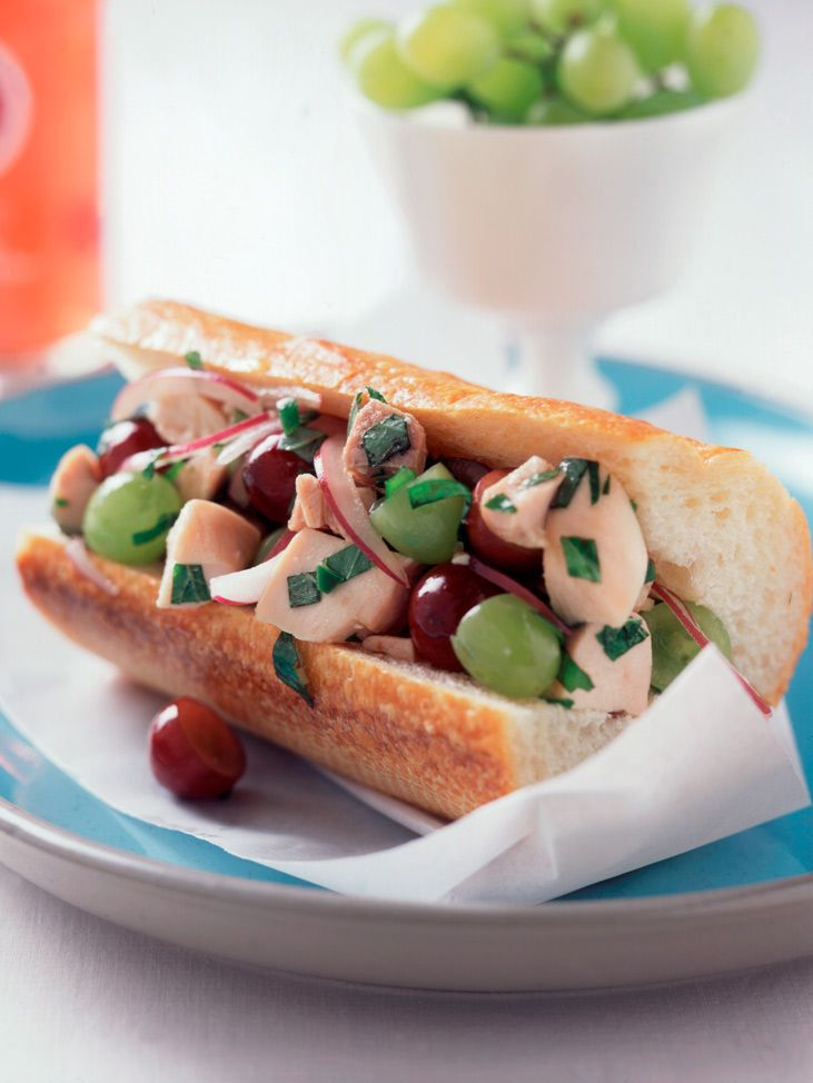Southeast Asian Chicken Salad With Fresh Green Grapes Recipe