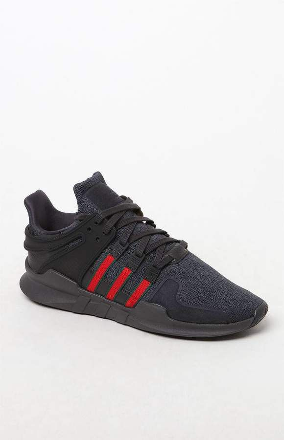 Adidas eqt appoggio avanzata nero & red shoes jay eqt pinterest