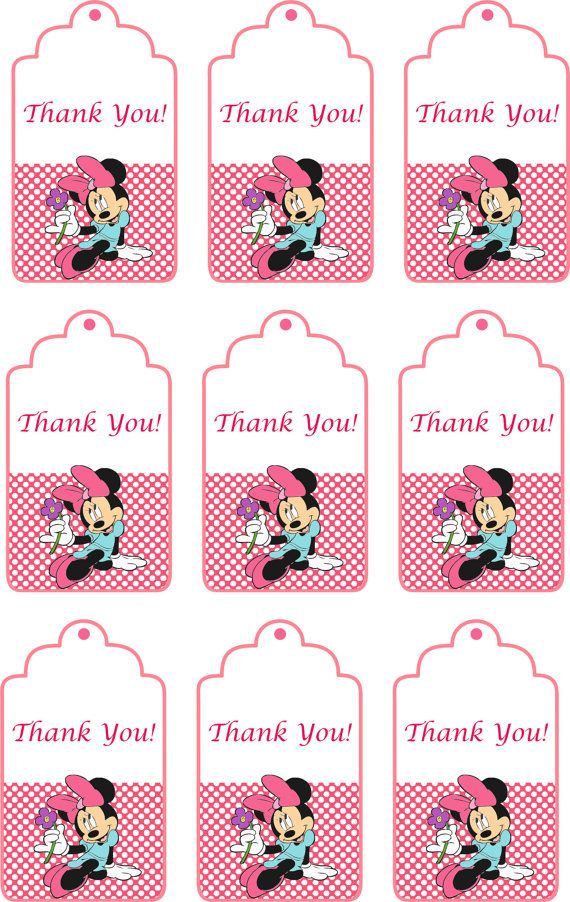 80% OFF SALE Disney Minnie Mouse Birthday Party by allforparty