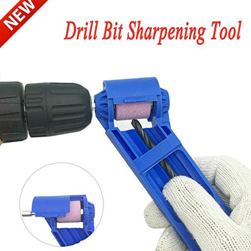 Portable Drill Bit Sharpener Corundum Grinding Wheel for Grinder Polishing  VQ