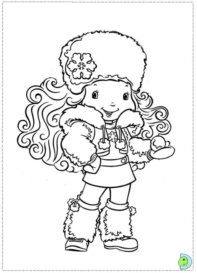 Strawberry Shortcake coloring page.06 | Strawberry Shortcake ...