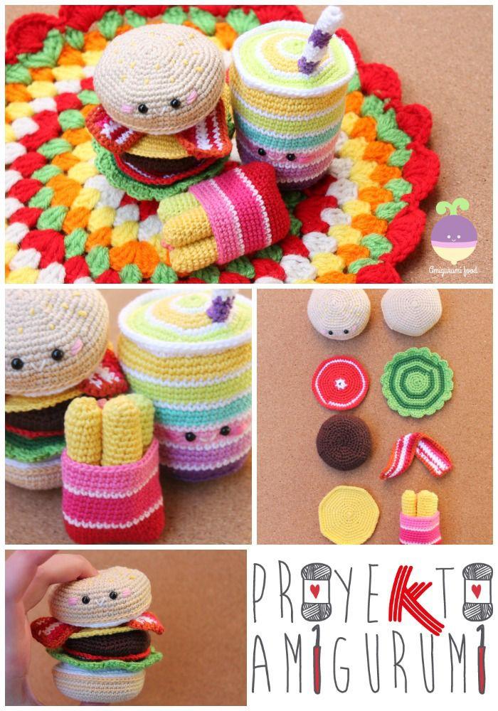 Amigurumi Food Crochet Free Pattern Animals Patrones Gratuitos