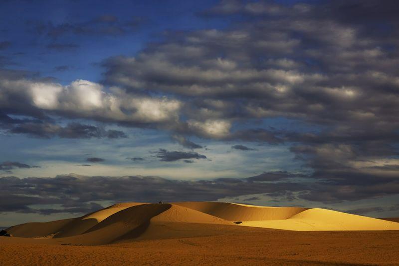 The White Sand Dunes, Vietnam.